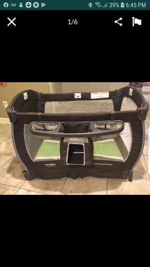 Baby Trend Nursery Center play pen, changing table for Sale in Litchfield, CT