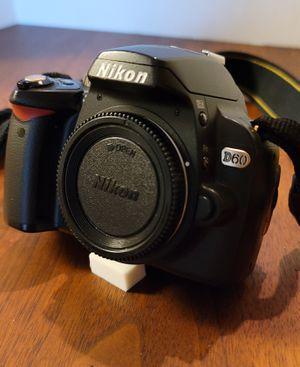 Nikon D60 Digital SLR Camera Body Only for Sale in Midlothian, VA