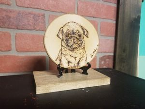 Pup burned on wood for Sale in New Britain, CT