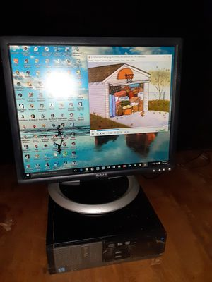 Dell 20inches monitor with VGA and DVI and USB ports no cords are included $35 for Sale in Washington, DC
