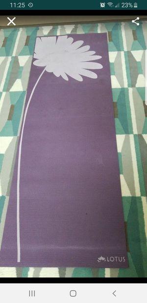 Lotus Printed 5mm Yoga Mat for Sale in Virginia Beach, VA