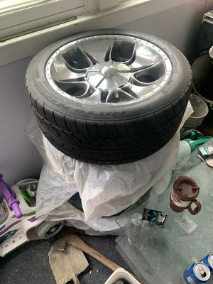 4 good tires with rims for Sale in South Bend, IN