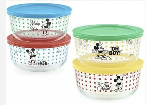 Mickey Mouse Disney 8 pc Pyrex set. for Sale in Duncan, SC