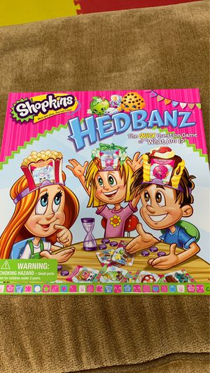 Shopkins Headbanz for Sale in Piscataway, NJ