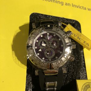 Invicta Purple Face Steel Dial Watch for Sale in Las Vegas, NV