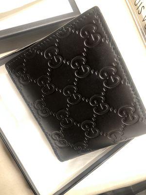 Gucci signature black wallet BRAND NEW for Sale in Irvine, CA