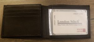 London stitch mens wallet for Sale in Tuscola, TX