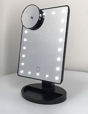 "Brand New $15 each 11x6.5"" LED Vanity Makeup Mirorr Touch Screen Dimming w/ 10x Magnifying for Sale in Rancho Cucamonga, CA"