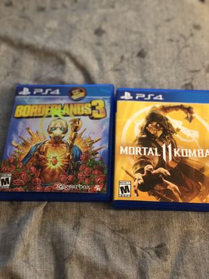 Mortal Kombat 11 and borderlands 3 for Sale in Brookline, MA