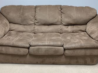 Microsuede Sleeper Sofa for Sale in Woodstock,  GA