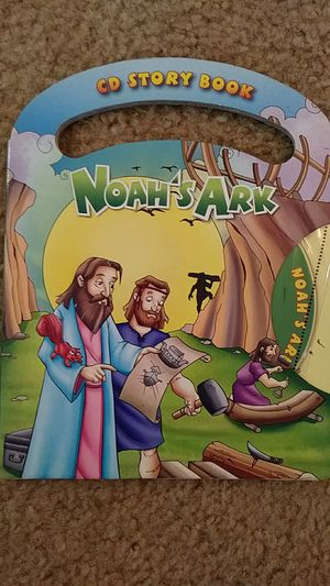 LIKE NEW Noah's Ark kids CD story book for Sale in Falls Church, VA