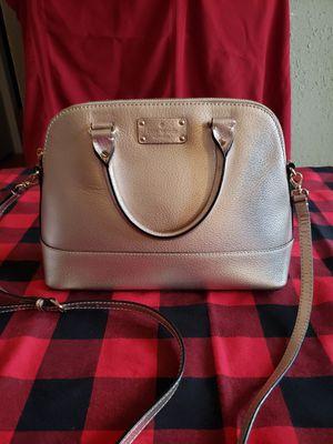 Kate Spade Light Gold Handbag for Sale in Covington, WA