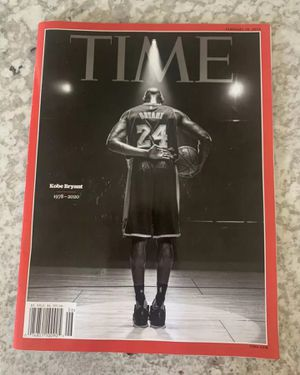 Kobe Bryant Time Magazine February 2020 Tribute Issue Jersey for Sale in View Park-Windsor Hills, CA
