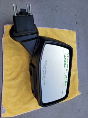 Chevy silverado gmc sierra 2019 2020 right mirror for Sale in Lawndale, CA