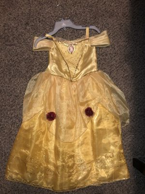Belle Costume with Accessories for Sale in Garland, TX