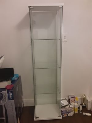 SPA room IKEA glass cabinet for sale. for Sale in Davie, FL