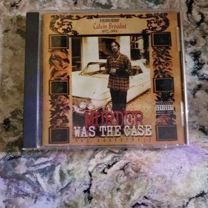 Murder Was The Case CD-Snoop Dogg for Sale in Bridgeport, CT