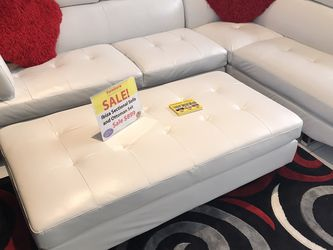 MODERN NEW IBIZA SECTIONAL AND OTTOMAN SET. WAREHOUSE BLOWOUT SALES EVENT!!! SAME DAY DELIVERY! NO CREDIT CHECK FINANCING $49 DOWN! for Sale in St. Petersburg,  FL