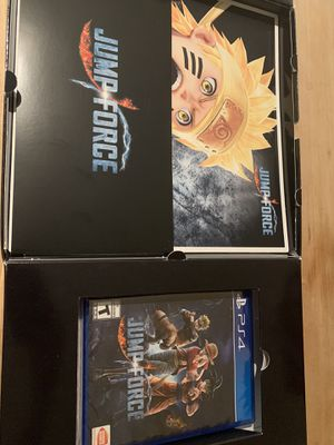 Jump force collectors edition ps4 for Sale in Fairfax, VA