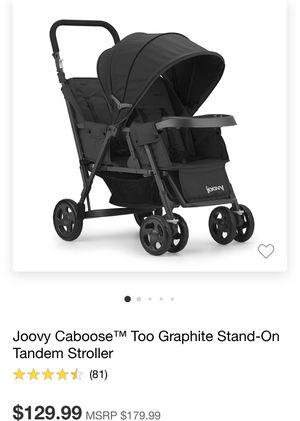 JOOVY DOUBLE STROLLER for Sale in Pittsburg, CA