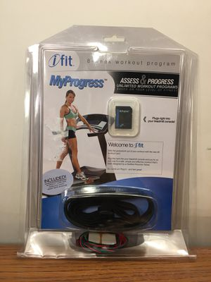 Ifit My Progress Workout Card & Wireless Chest Heart Rate Monitor 2006 New for Sale in Elgin, IL