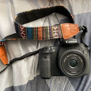 Canon 60D Body and 24 mm Lense & Strap Included! for Sale in Dallas, TX