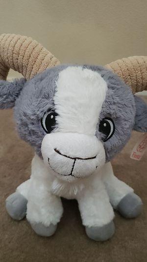 Stuffed Animal Plush, White gray for Sale in Moreno Valley, CA