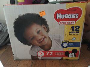 Diapers huggies for Sale in Hartford, CT