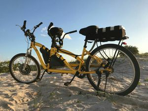 Unique custom made electric tandem bicycle ebike for Sale in Miami, FL
