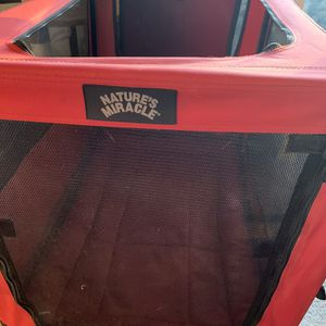 Port-a-Crate For dogs and cats Natures miracle for Sale in Laurel, MD