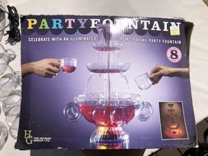 punch bowl party fountain for Sale in Waterford, NJ