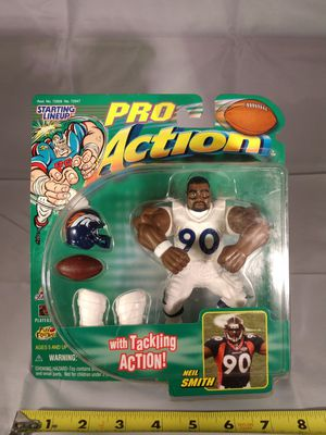 Neil Smith Pro Action Figure for Sale in Fort Worth, TX