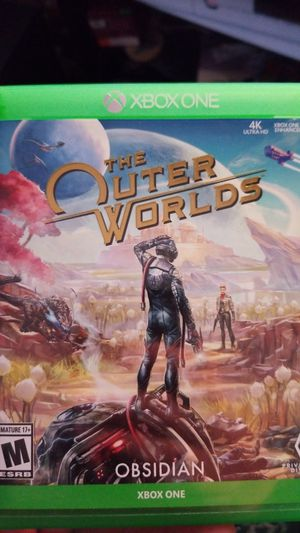 Outer Worlds xbox game, new condition for Sale in Warwick, RI