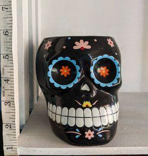 Halloween Skull Planter for Sale in Scottsdale, AZ