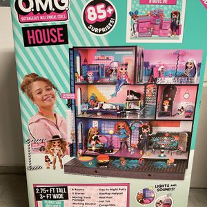 BRAND NEW- LOL Surprise OMG Real Wood Doll House for Sale in Baldwin Park, CA