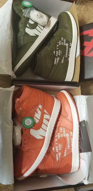 BOTH DS JORDAN 1S ONLY RELEASED IN EUROPE SIZE 12 for Sale in Washington, DC
