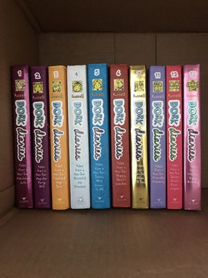 """FREE!! """"Dork Diaries"""" series. Pick up, no delivery. for Sale in Ashburn, VA"""