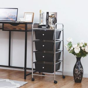 Brand New 4 Drawer Metal Rolling Storage Cart for Sale in Beverly Hills, CA