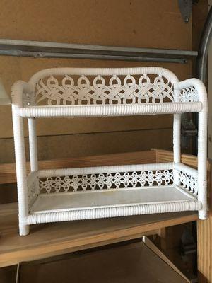 Wicker shelf for Sale in Santa Fe, NM
