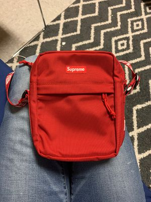 Supreme SS18 Shoulder Bag- RED for Sale in Duluth, MN