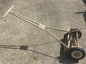Vintage Scott's Silent Reel Push Lawn Mower Model 5m4 for Sale in Federal Way, WA