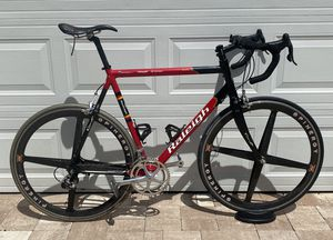 Raleigh Special Edition Heritage Series Road Bike with Spinergy Rav X Carbon Wheels for Sale in Highland Beach, FL