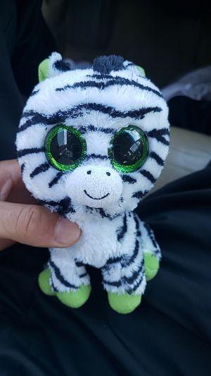 Zebra, ty, stuffed animal for Sale in Pleasanton, CA