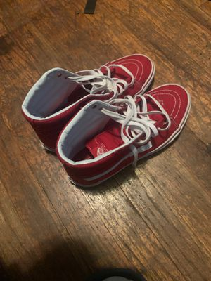 Red vans size 7 for Sale in Columbus, OH