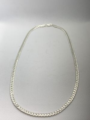 "New 20"" Stainless Steel Mens/Women's Cuban Chain with diamond cuts for Sale in Fresno, CA"