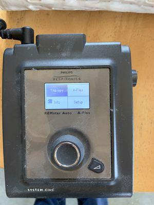 Philips respironics cpap machine for Sale in Wildomar, CA