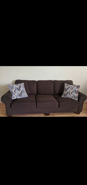 Comfortable Brown Sofa for Sale in Parlin, NJ