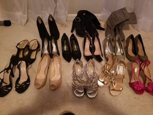 A lot of shoes! Heels, sandals, boots! Size 6.5-7 for Sale in Fairfax, VA
