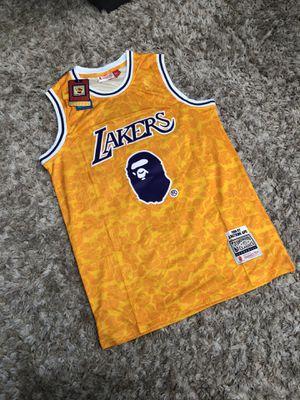 Lakers Bape Jersey for Sale in Santa Fe Springs, CA