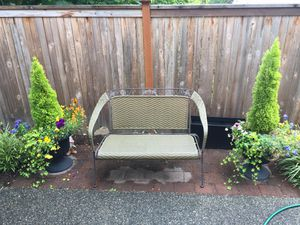Outdoor Bench Patio Chair for Sale in Bothell, WA